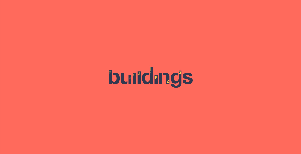 Buildings Clever Wordmark / Verbicons