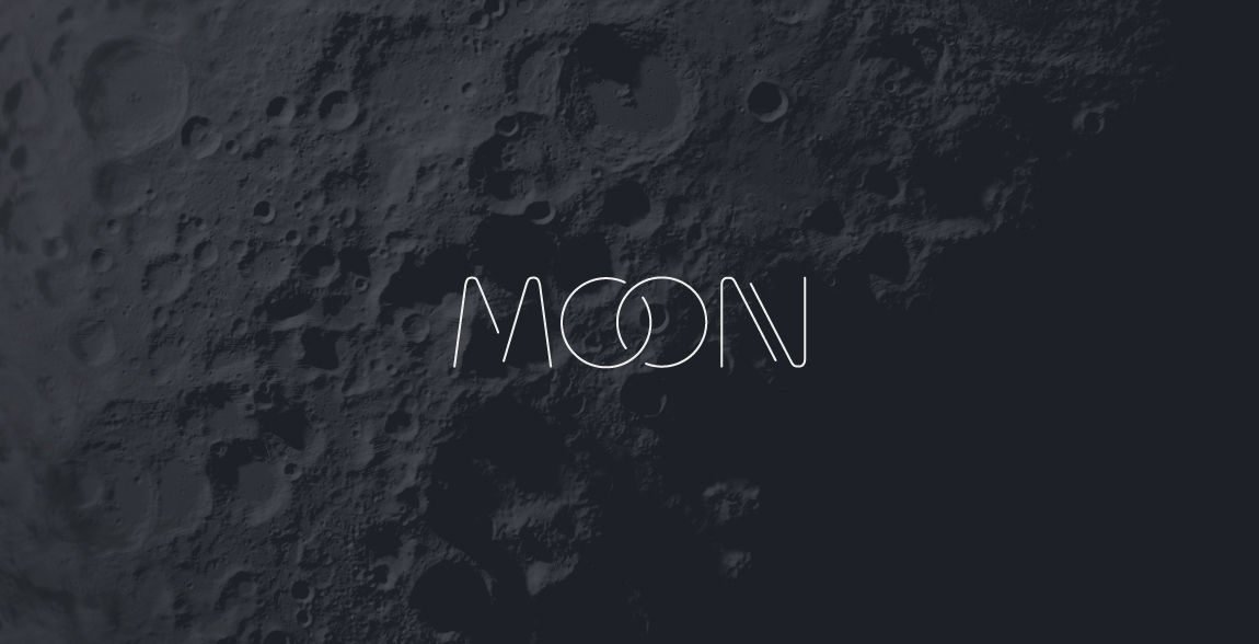 Moon Clever Wordmark / Verbicons