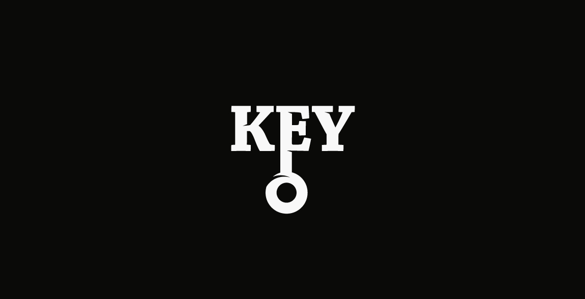 Key Logo Morning Wordmark / Verbicons